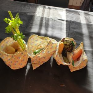 Lots de 4 sacs à légumes